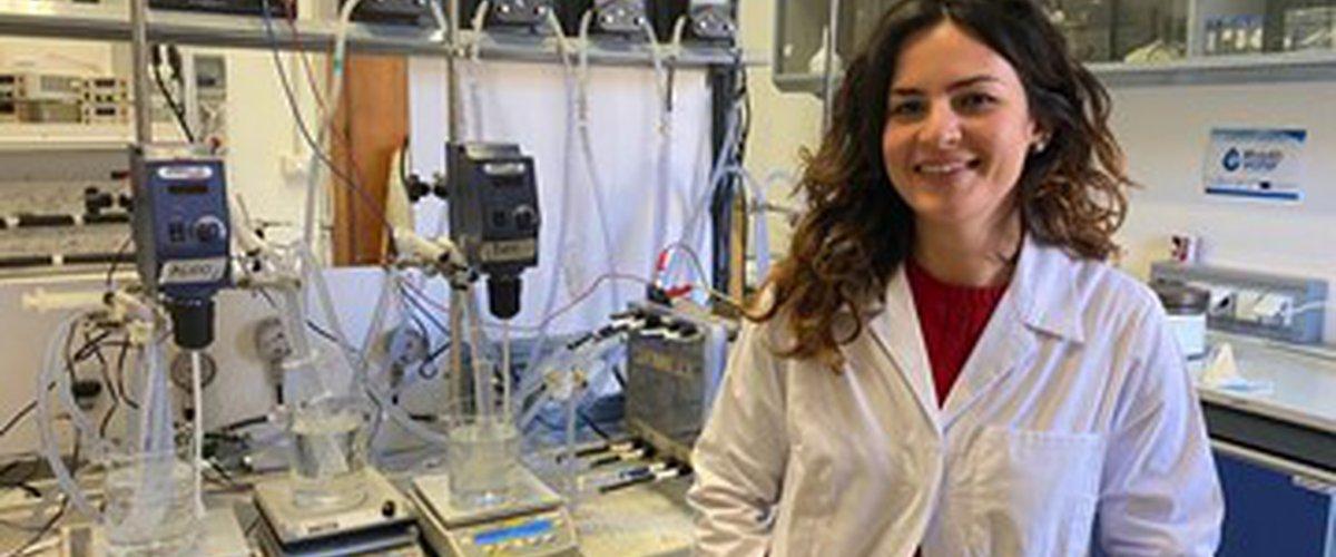 Rosa Gueccia experimental set-up for EDBM tests performed at UNIPA